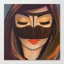 Burqa Beauty Canvas Print