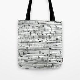 Harbour #2-minimalist, decorative line Drawing Tote Bag