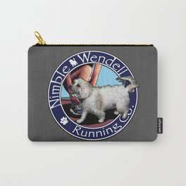 Nimble Wendell Running Co. (Painterly Logo) Carry-All Pouch
