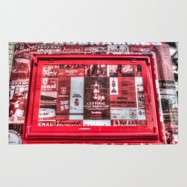 Arsenal FC Emirates Stadium Programme Booth Rug
