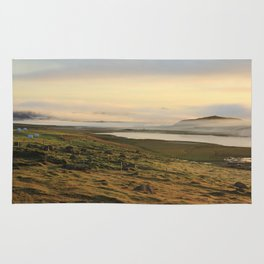 Good morning Iceland Rug
