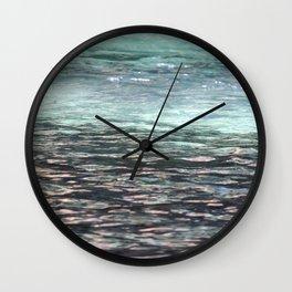 Water Like Glass Wall Clock