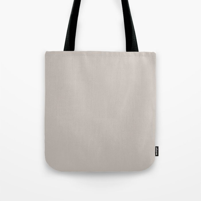 Silver Scene ~ Sand-Grey Coordinating Solid Tote Bag