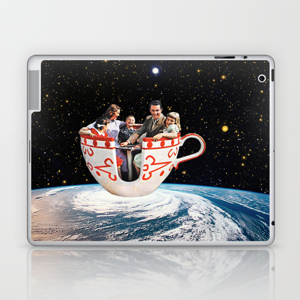 Storm In A Cup Laptop & Ipad Skin by Eugenialoli LSK2811735