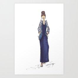 """Summer Girl"" Art Print"