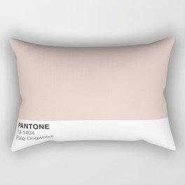 Pale Dogwood Pantone Rectangular Pillow