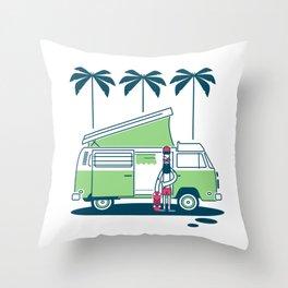 Van Life Nº 1 Throw Pillow