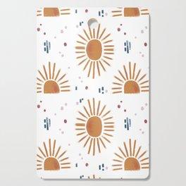 sunbursts Cutting Board