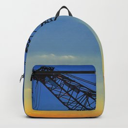 Sunset Construction Crane Backpack