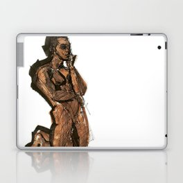 Thoughts That Require Nudity Laptop & iPad Skin