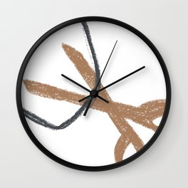 rock paper scissors Wall Clock