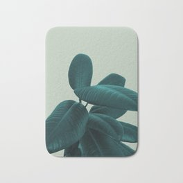 Ficus Elastica #8 #GreenLily #decor #art #society6 Bath Mat