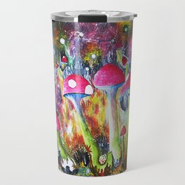 Who loves Mushrooms? Travel Mug