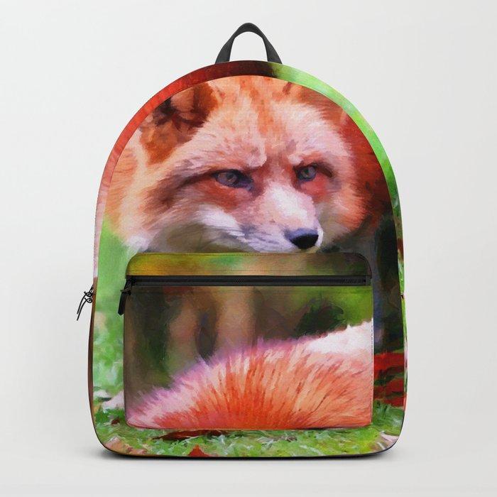 Autumn Fox hunting Backpack