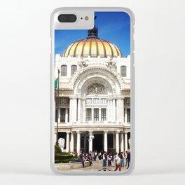 Palacio de Bellas Artes Clear iPhone Case