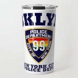 Vintage Brooklyn 99 Travel Mug