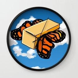 Butter Flys Wall Clock
