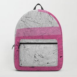 Woodchip Pink Backpack