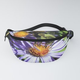 Pollen Dusted Bee on Asters Fanny Pack