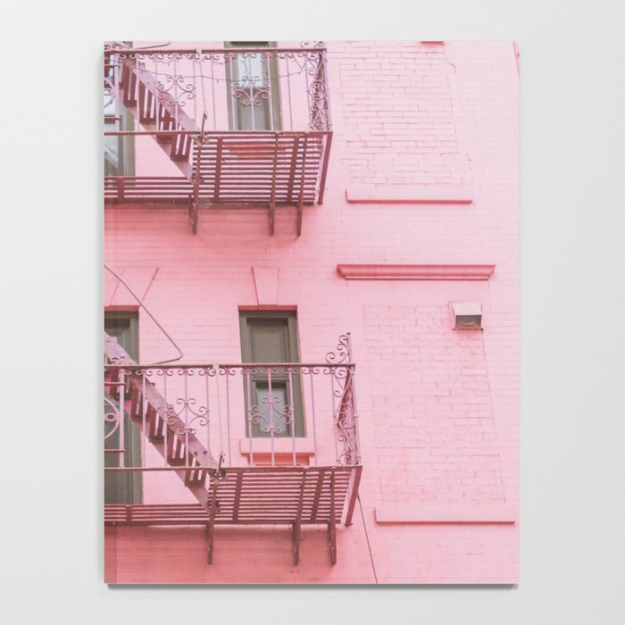 Pink Soho NYC Notebook