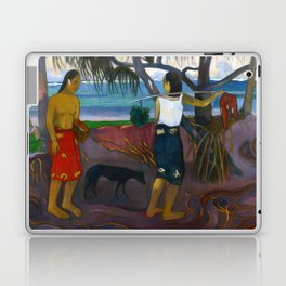 Under the Pandanus by Paul Gauguin Laptop & iPad Skin