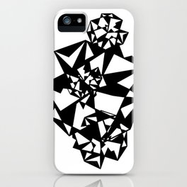 Geometry Madness iPhone Case