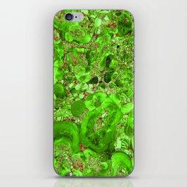 Marble Emerald Green iPhone Skin