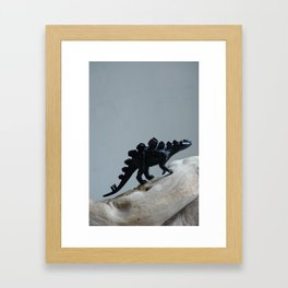 Looking for Dinosaurs Framed Art Print
