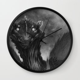 The Dragon of the Valley Wall Clock