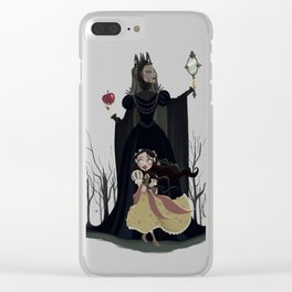 Snow White - Poster Clear iPhone Case