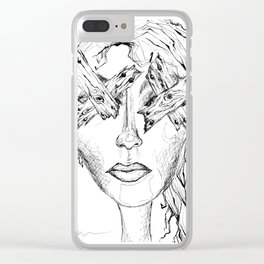 They Say Eyes Are Windows To Our Soul Clear iPhone Case