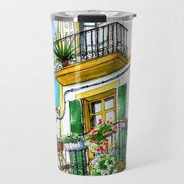 Casa carrer Sta Creu - Ibiza Travel Mug