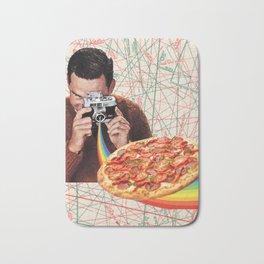 pizza obsession Bath Mat