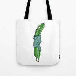 Business Cucumber Tote Bag