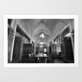Library 1 Art Print