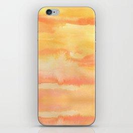 Apricot Sunset iPhone Skin