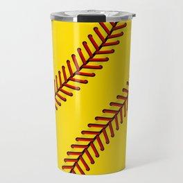 Fast Pitch Softball Travel Mug