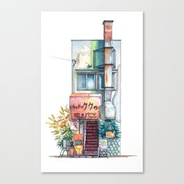 Tokyo storefront #09 Canvas Print