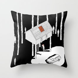 Hereditary by Ari Aster and A24 Studios Throw Pillow