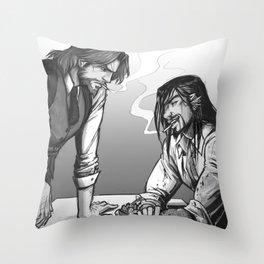 Cops & Crooks Throw Pillow