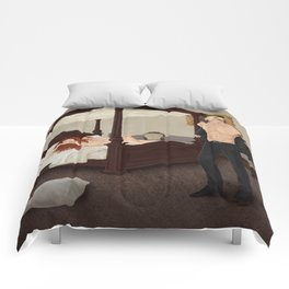 strange bedfellows Comforters