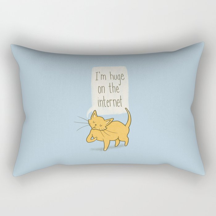 Huge on the Internet Rectangular Pillow