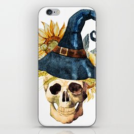 Skull 05 iPhone Skin