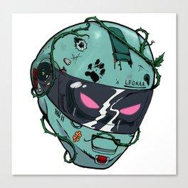 KILL SEZN: SKID LID Canvas Print