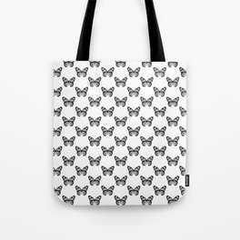 Monarch Butterfly Pattern | Black and White Tote Bag