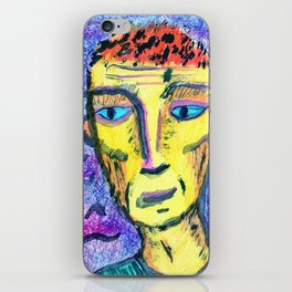 People with downcast look. №1 iPhone Skin