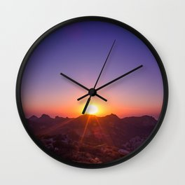 The Day The Sun Stood Still Wall Clock