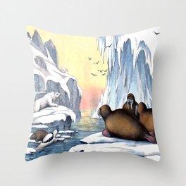 Polar Convention Throw Pillow