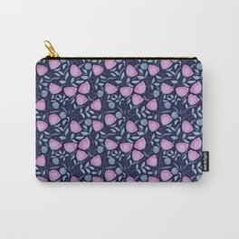 Tiny Floral Pattern Carry-All Pouch