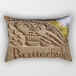 Beauty in Death Rectangular Pillow